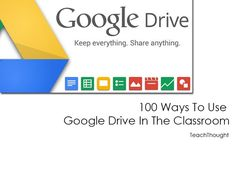 100 Ways To Use Google Drive In The Classroom | TeachThought