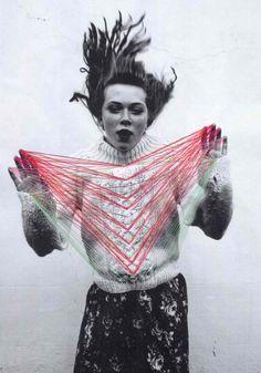 photo illustration #photoillustration #sweater #girl