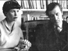 Sylvia Plath and Ted Hughes.