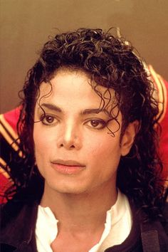 Michael Jackson's curls are perfection.