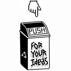 Your safe   #illustration  #illustrationdesign  #design  #tattoodesign  #tattoo  #blackwork  #blacktattoo  #blackillustration  #trashcan  #ink