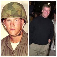 Larry Wilcox / U.Marines 1967 and served 13 months in Vietnam during the Tet Offensive, Staff Sergeant - (Actor) Larry Wilcox, American War, American Soldiers, Military Veterans, Military Personnel, Military Service, Military Men, Military History, Famous Marines