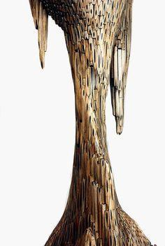 Sculptures by artist Jessica Drenk