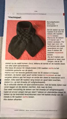 vlechtsjaal heel gemakkelijk om te breien!!