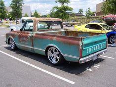 Patina, shop logo'd, rusty trucks? - Page 2 - The 1947 - Present Chevrolet & GMC Truck Message Board Network