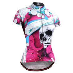 FIXGEAR CS-W19P2 Women s Short Sleeve Cycling Jersey made by FG Creative  Cycling Wear 5bc1ceb06