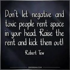 How To Rid Yourself Of Toxic People