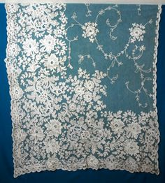 1900 Lace curtains...