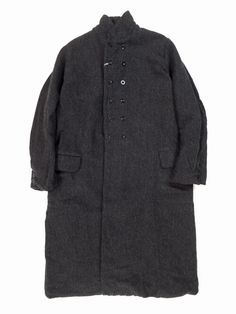 garment reproduction of workers WORKER'S DOUBLE COAT(グレー)【ユニセックス】 - BAZAAR by GIFT/ YAECA・NO CONTROL AIR・ゴーシュ・Scye・CURLY等の通販