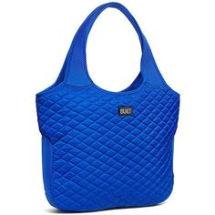 """BUILT Essential Tote Bag This beautiful tote bag come in a gorgeous blue color. It stretches to fit everyday essential. It has an inside zipper compartment that will fit a laptop computer up to 16"""". This tote bag is perfect for your everyday use, school, travel, beach and etc. BUILT Bags Totes"""