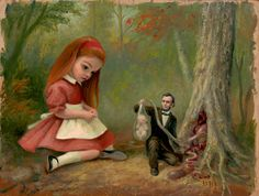 "OcéanoMar - Art Site: ""Mark Ryden (born January 20, 1963) is an American painter, part of the Lowbrow (or Pop Surrealist) art movement."