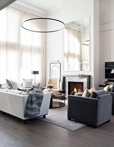 Great Room designed by Elizabeth Metcalfe Interiors & Design Inc.