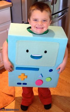 Adventure Time BMO - Halloween Costume Contest via @costume_works