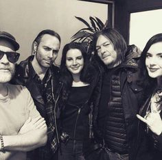 Lana Del Rey with Norman Reedus