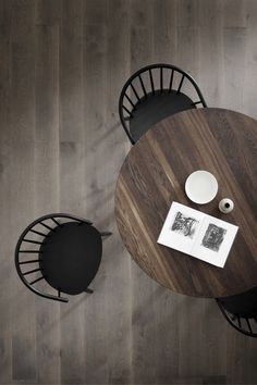 Taro is a series of solid oak tables created with a strong focus on daily function and use, whether in the kitchen, dining area or meeting room. Take a seat in Chair by Ejvind A. Dining Area, Kitchen Dining, Solid Oak Table, Take A Seat, Scandinavian Design, Stools, Your Space, A Table, Chairs