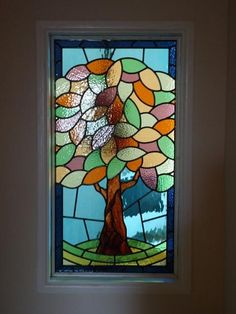 Working Closely With The Client This Leaded Glass Window Was Created And Fitted Into A Property In Leeds .