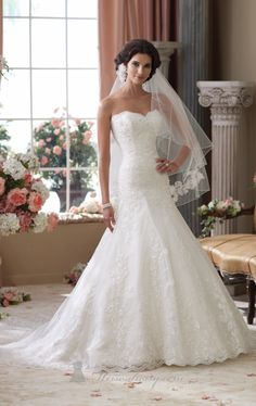 David Tutera 114283 by David Tutera for Mon Cheri