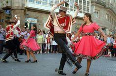 Actuación del Ballet Folklórico de Rancagua-Chile. // Rafa Vázquez