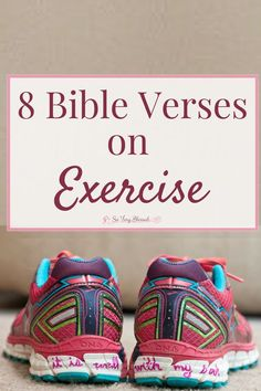 Exercise Exercise takes a lot of self-discipline, but here are 8 Bible verses to add a deeper purpose to your workout routine. - Exercise takes a lot of self-discipline, but here are 8 Bible verses to add a deeper purpose to your workout routine. Bible Scriptures, Bible Quotes, Prayer Quotes, Christ Quotes, Bible Prayers, Faith Quotes, Self Discipline, Christian Faith, Christian Living