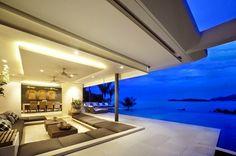 Arquitectura contemporanea Villa de lujo en Isla Koh Samui, Tailandia http://www.arquitexs.com/2014/11/villa-de-lujo-en-en-isla-koh-samui-Tailandia.html