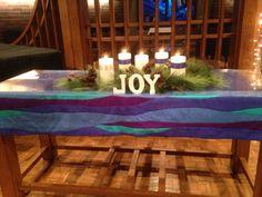 2014 Advent Altar