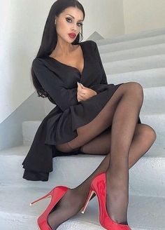 Beauty in hot heels 🔥 # Stockings Legs, Stockings Lingerie, Lingerie Dress, Nylon Stockings, Sexy Legs And Heels, Hot Heels, Pantyhose Legs, Nylons, Women Legs