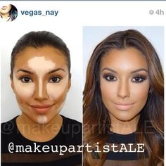 Thank you amiga!  @vegas_nay for featuring this picture on your IG today!  To all my new followers: Welcome to my page!  I will be teaching a make-up class covering these advanced contouring techniques and much more on Dec. 15th from 10am-1pm @tntagency Price: $100 To reserve your seat or for more info call 909-606-5555 or email us at info@tntagency.com  #vegas_nay #contouring #tntagency #makeupschool #makeupclasses