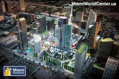O último megaprojeto em #DowntownMiami prestes a ser aprovado... www.Miamiworldcenter.us/br #Imoveis #Investimento
