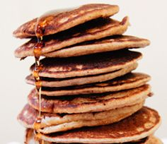 Oat Banana Vegan Pancakes- add some chia seeds and double the recipe. Everyone loved it!