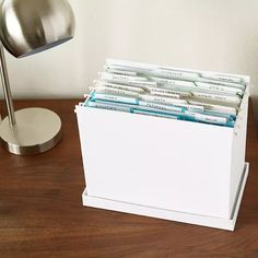 Office Organization At Work, File Organization, Container Organization, Office Storage, Desk Storage, Organizing Paperwork, Organizing Your Home, Office Filing System, Paper Clutter