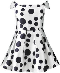 AX Paris Polka Dot Print Skater Dress