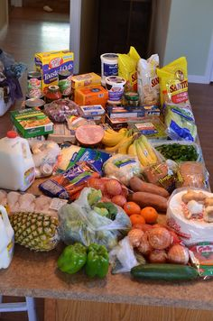 Shopping for eating clean - 16 day meal plan - EASY!!!  www.ifyoucandreamittravel.com
