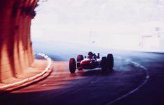 Ferrari Friday … mood lightingLorenzo Bandini, Ferrari F1512, 1965 Monaco Grand Prix