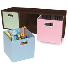 zBoard recycled paper organization for the kids' room.