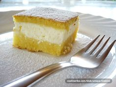 makana, sočna i topi se u ustima. to je ta. Czech Recipes, Ethnic Recipes, Eastern European Recipes, Croatian Recipes, Cheesecake Bars, Sweet Cakes, Cornbread, Sweet Recipes, Cooking Recipes