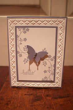 Hey, I found this really awesome Etsy listing at http://www.etsy.com/listing/155258977/purple-butterfly-hello-stampin-up-card