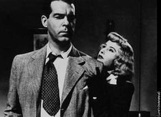 """Double indemnity"" starring Barbara Stanwyck and Fred Macmurray, directed by Billy Wilder (1944)"