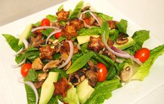Superstar Asian Tempeh Salad