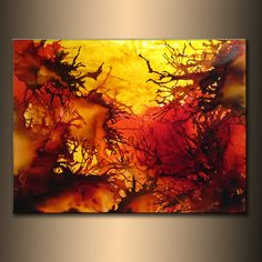 Original Abstract paintingContemporary Modern by newwaveartgallery, $4000.00 …