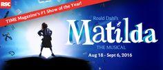 Matilda The Musical Aug 18 – Sep 6, 2015 Matilda The Musical - 5th Avenue