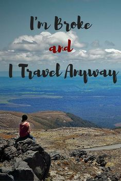 I'm Broke and I Travel Anyway - A Broken Backpack