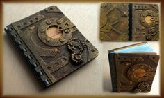 Easy Steampunk notebook