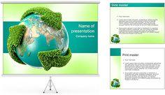 Waste management powerpoint template is a free powerpoint template recycling earth powerpoint template toneelgroepblik Gallery