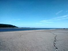 Beach, sea, sky, beautiful