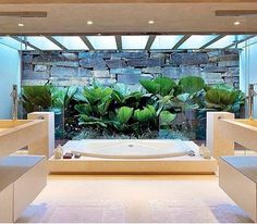 WEBSTA @ assimeugosto - No blog: banheiros com jardim  www.assimeugosto.com | na foto, projeto Luís Carlos Orsini #assimeugosto #banheiros