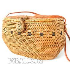 sling bags ata rattan ethnic motif handmade women design - sling bags ata rattan ethnic motif handmade women design