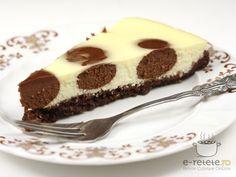 Cheesecake cu ciocolata. Imagini pas cu pas pentru cheesecake cu ciocolata ffff bun