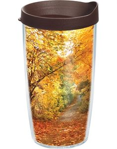 Fall Foliage Pathway Tervis Tumbler #autumn