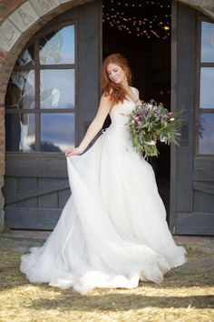 Melissa cherry wedding dress