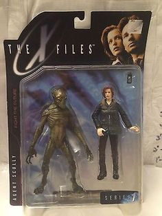 (TAS004669) - McFarlane Toys The X-Files TV Show Character - Agent Dana Scully
